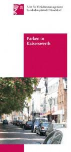 Broschüre Parken in Kaiserswerth
