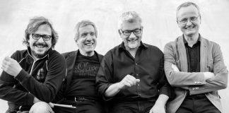 """Pepe Joma Kwartett"" mit Peter Trier-Hesse – Sopran- & Tenorsaxophon, Johannes Quack – Keyboards, Peter Schwöbel – Bass, Marcus Specht – Drums"